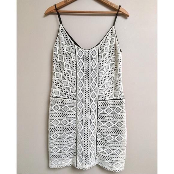 Dolce Vita Dresses & Skirts - Dolce Vita ivory crocheted spaghetti strap dress